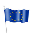 flag of european union vector image