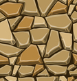 Seamless pattern with decorative stones-4 vector image