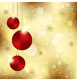 Sparkling Christmas Crystal Ball vector image