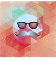 Retro glasses with reflection EPS 10 vector image vector image