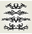 6floral line 06 vector image vector image