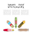 skateboard flat vector image