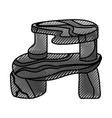 gst san - base 100 limpia vector image