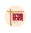 For sale Icon on the white background vector image