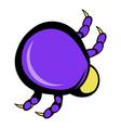 mite virus icon icon cartoon vector image