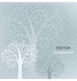 tree background vector image