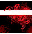 6floral line 09 3 vector image vector image