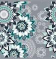 mandala ornament seamless pattern vector image