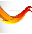 Abstract wavy vector image vector image