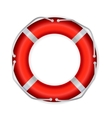 Life Buoy Isolated On White Background vector image