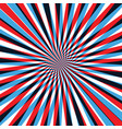 red and blue abstract line background vector image vector image