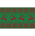 green and red christmas jumper vector image