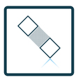 Medical plaster icon vector image