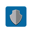 protection app button vector image