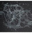water splash drop Isolated transparent 3d vector image