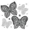 Beautiful butterflies vector image