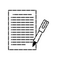 pen for sign vector image
