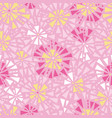 pink yellow triangles bursts seamless vector image