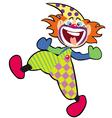 happy clown vector image