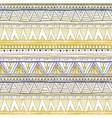 Tribal seamless geometric pattern ethnic motifs in vector image
