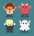 Halloweenfront set 1 vector image
