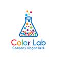 Color Lab vector image