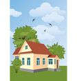 country house vector image vector image