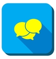Webinar Longshadow Icon vector image