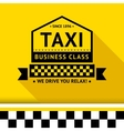 Taxi badge 08 vector image