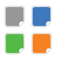 stickers color vector image