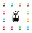 Isolated lotion icon hand sanitizes vector image