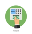 Payment Flat Icon vector image