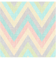 seamless pastel multi colors chevron pattern vector image