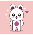 Kawaii icon bear Cartoon design graphic vector image