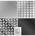 Art Deco seamless vintage wallpaper pattern vector image