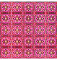seamless mosaic of geometric ornament with vector image