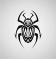 Tribal Beetle vector image