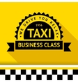 Taxi badge 09 vector image
