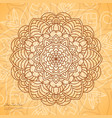 circular mandala vector image