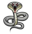 cobra snake mascot vector image