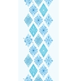 abstract blue doodle rhombus vertical vector image vector image