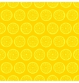 Retro seamless pattern with lemons vector image