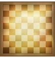vintage chess background vector image vector image