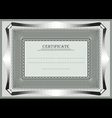 Frame for official document vector image