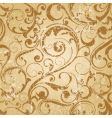 grunge antique wallpaper tile vector image vector image