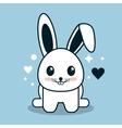 Kawaii icon Rabbit Cartoon design graphic vector image