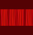bright red curtain theater wide background vector image