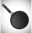 Cooking pan vector image vector image