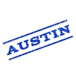 Austin Watermark Stamp vector image