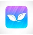plant icon vector image vector image